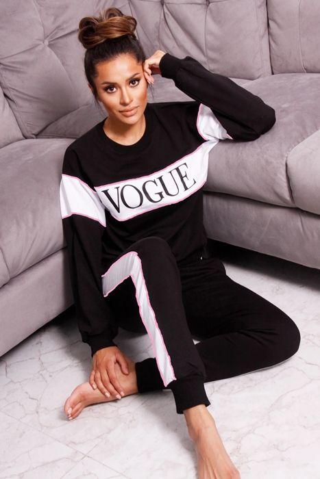 Vogue 2-piece Sæt i Sort
