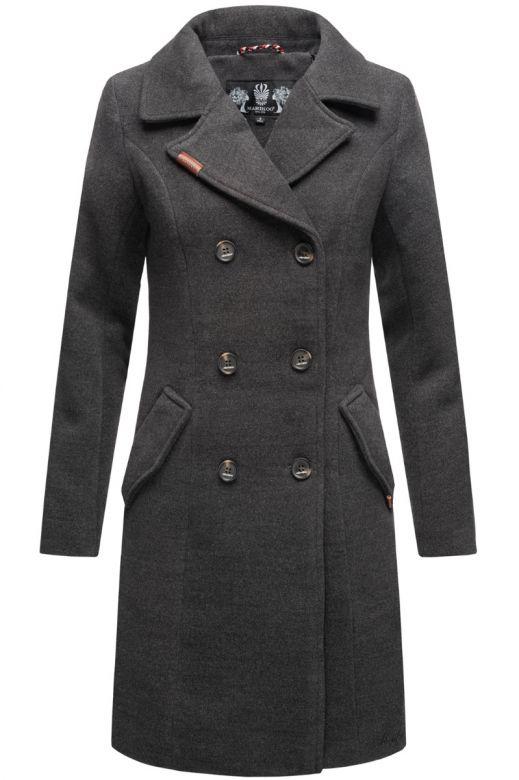Dame vinter Frakke Nanako - Mørk Grå
