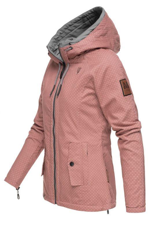 Dame Outdoor Vendejakke Chuu - Rosa Dot