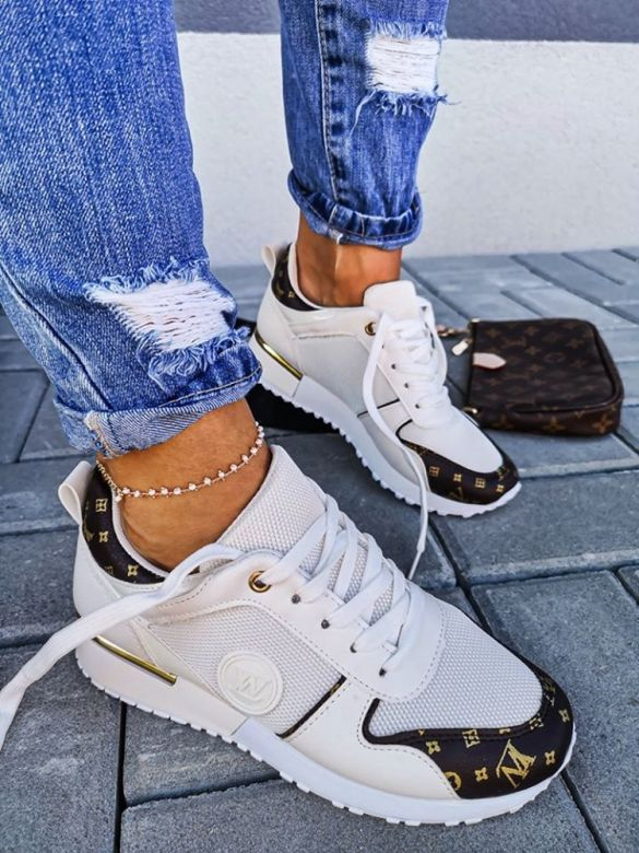 Sneakers LW Lugano i Hvid
